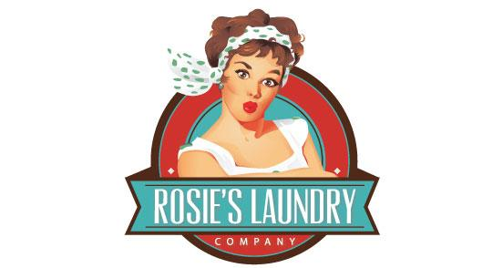 Rosie's Laundry Company | Logo Design | The Design Inspiration