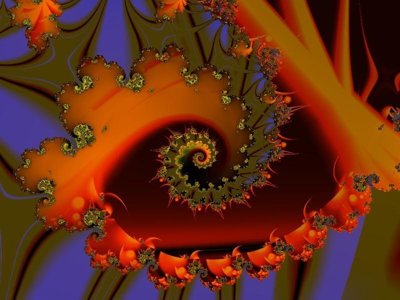 Fractal Image Blacklight