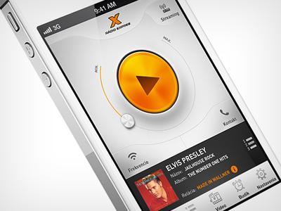 Radio app doodle up 2 by Martin Schurdak