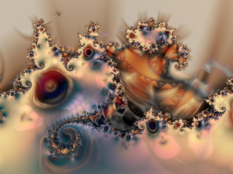 Fractal Image Drift