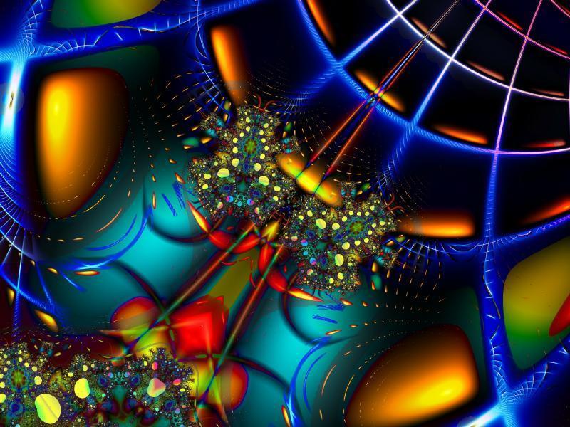Fractal Image Grid