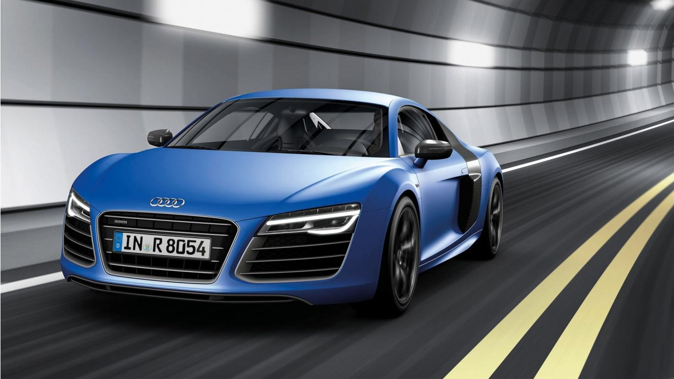 2013 Audi R8 V8 Wallpaper in 1366x768 Resolution
