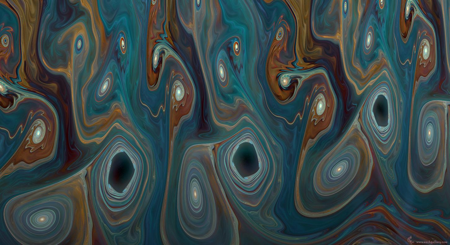 marbled math fractals