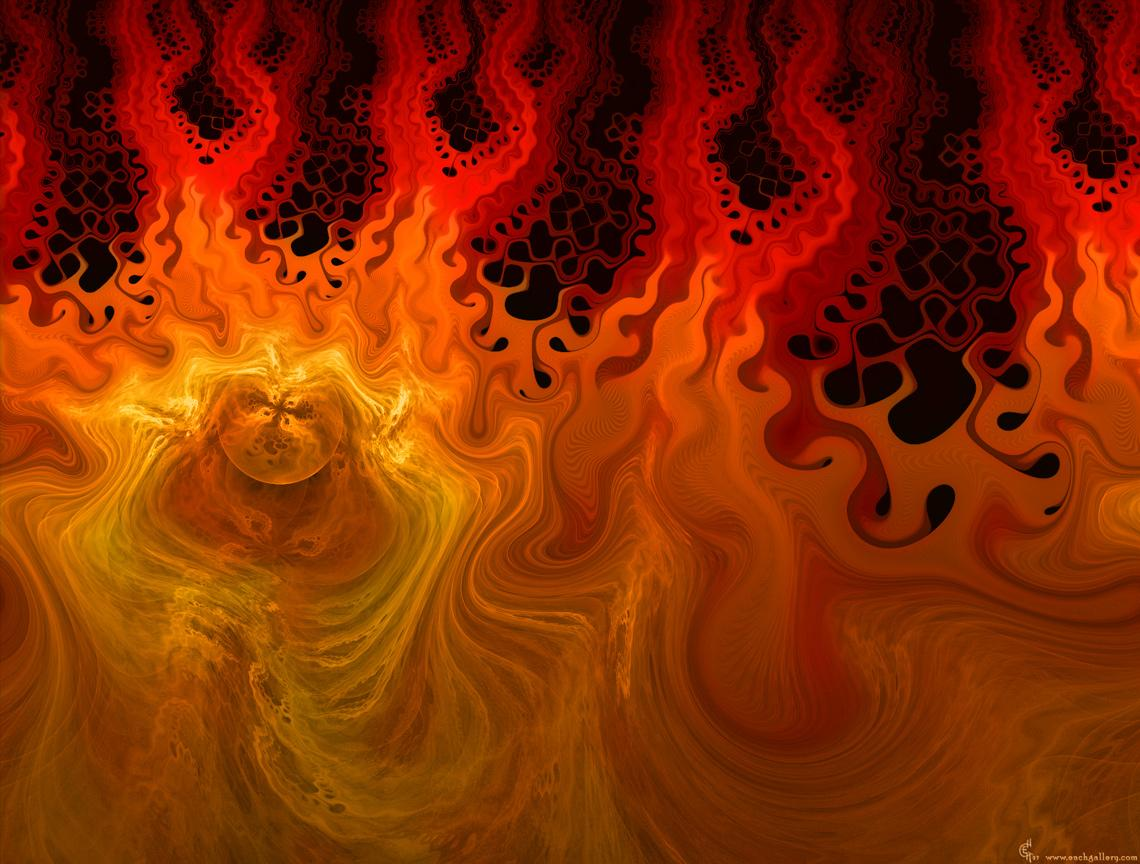 burning world fractals