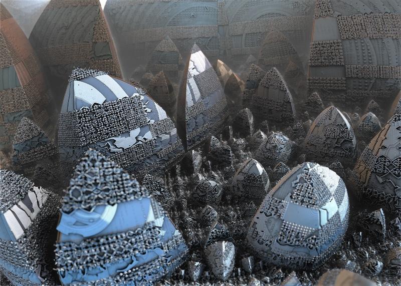 Exposition d'art fractal 3D - Images des mathématiques