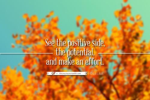 For you & you & you: Make an effort where effort is due. Click here for...