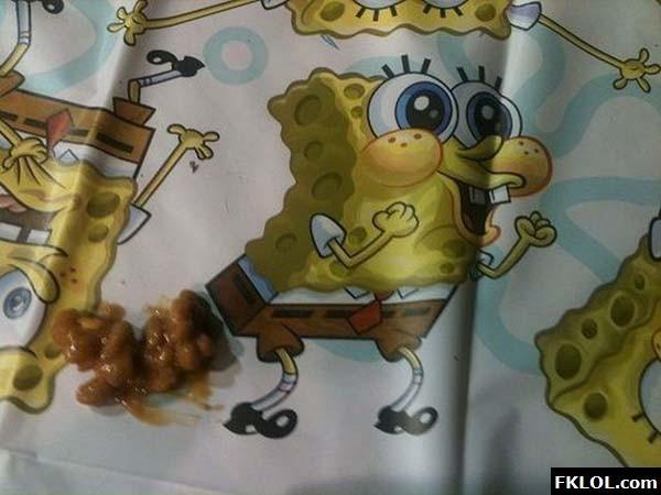 Spongebob! That's Just Nasty! -