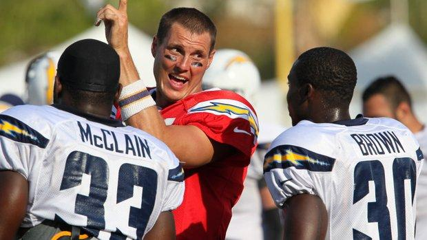 Chargers keep camp loose with Wildcat | UTSanDiego.com