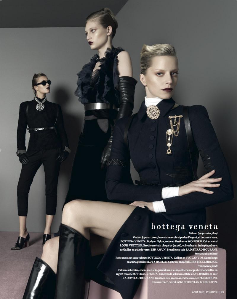 Milana Keller, Svetlana Kudina, and Veneda by Jonathan Segade