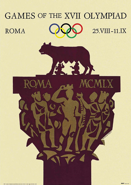 XVII Olympic Games, Rome, 1960.
