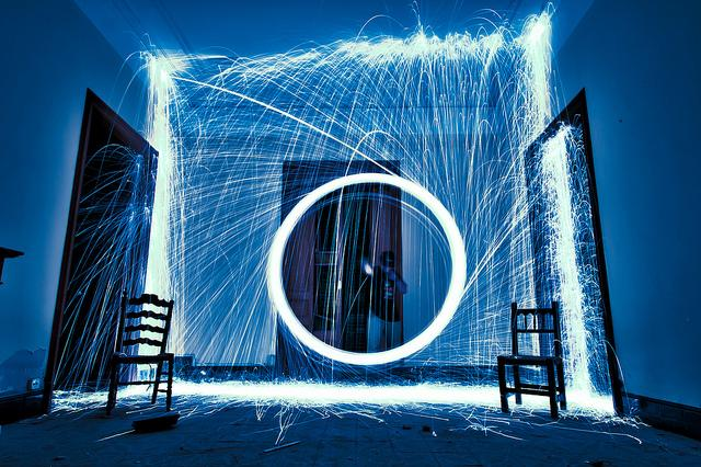Light Paintings by Oriol Domingo