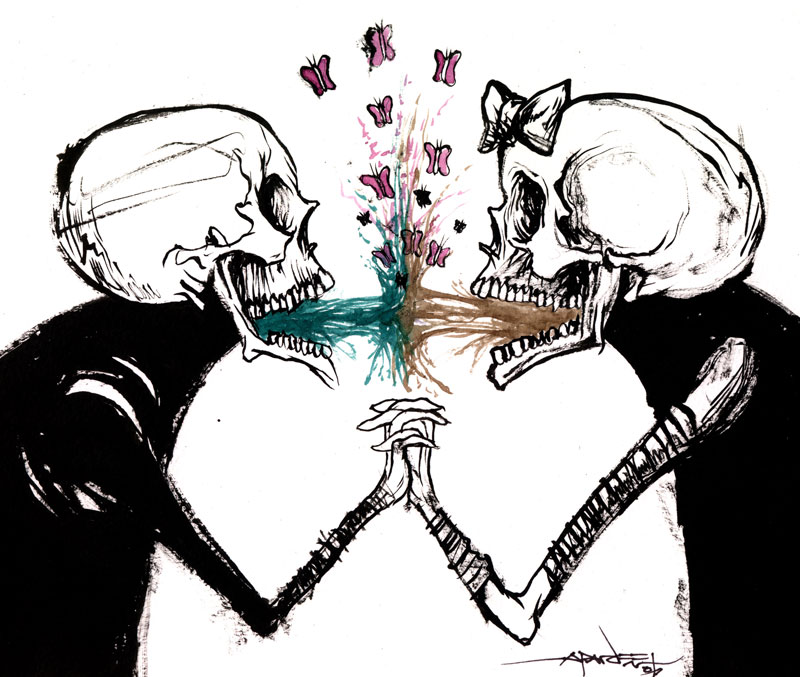 Vomit Is Love by *alexpardee