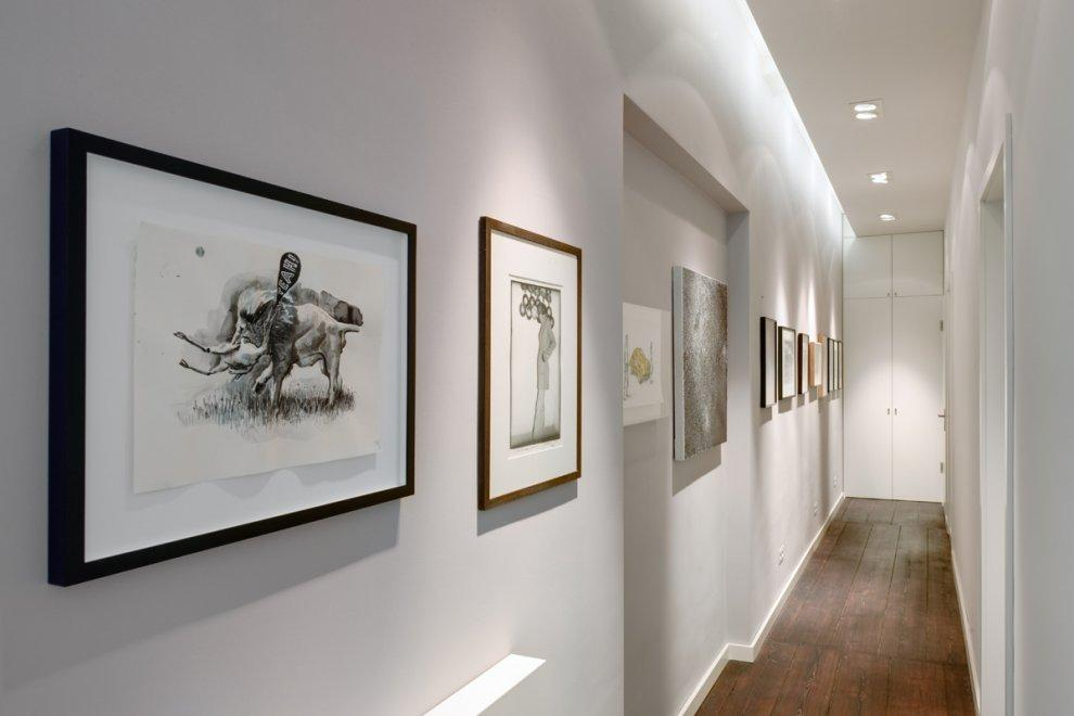 Pictures - Apartment – Berlin Tiergarten im Spreebogen - art corridor - Architizer
