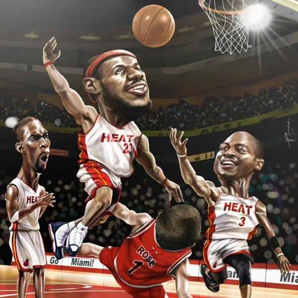 NBA,DeviantART deviantart nba basketball lebron james dwyane wade miami heat vincent patrick j 1200x1200 wallpap – Basketball Wallpapers – Free Desktop Wallpapers