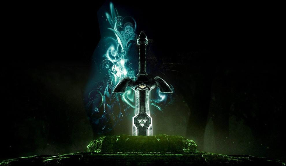 Zelda Master Sword - 3D, Fantasy, Videogames