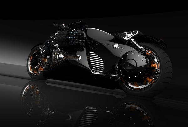 MM2 Tryton Electric Motorcyle on Digital Art Served