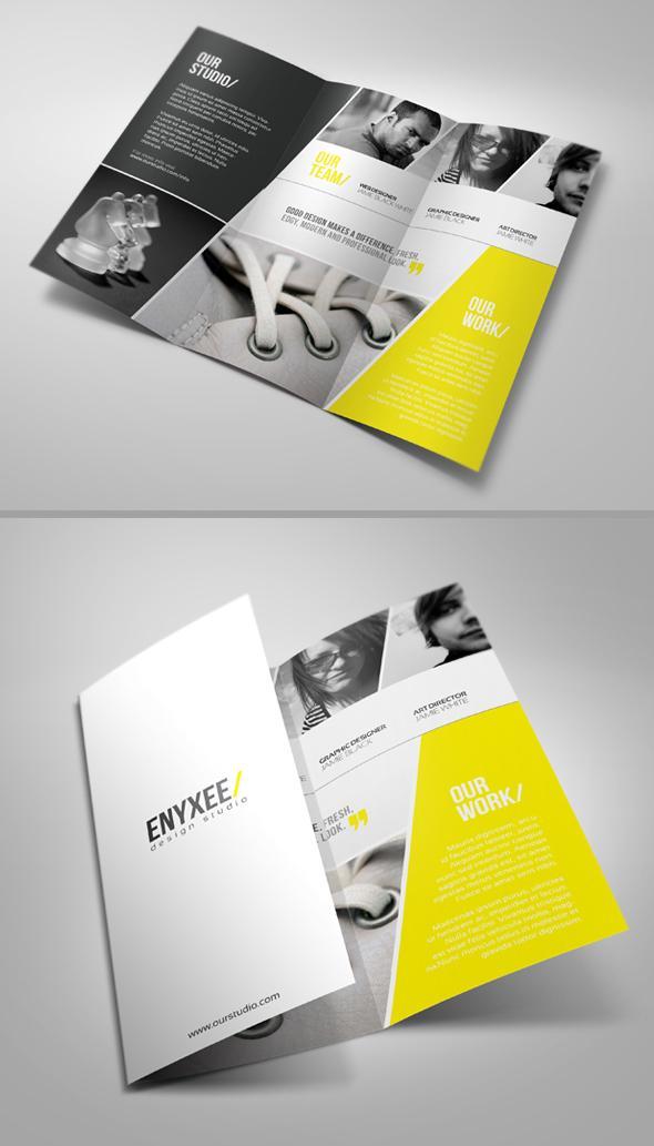Unique Tri-Fold Brochure - Brochures - Creattica