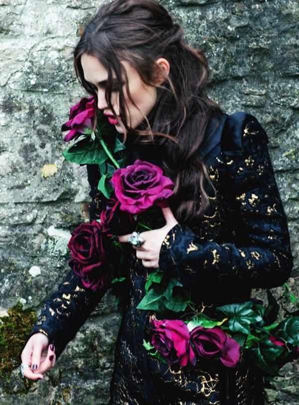 Nr. 9: Keira Knightley by Ellen Von Unwerth for Harper's Bazaar UK