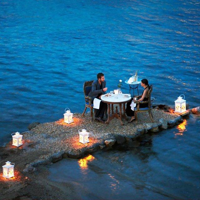 Fancy - Hotel Kivotos Private Dining @ Mykonos