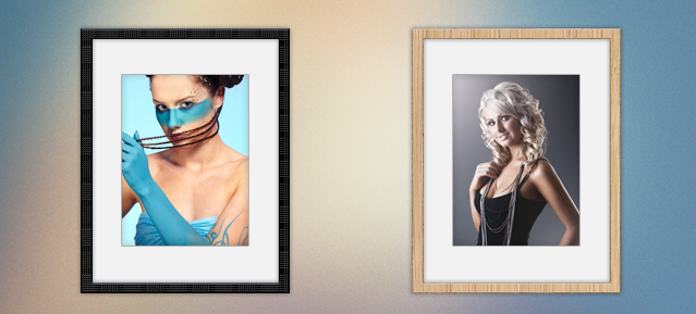 Woven/Wooden Frames (PSD) – Simply Pixels