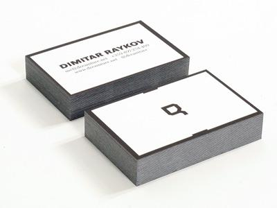 Business cards by Dimitar Raykov