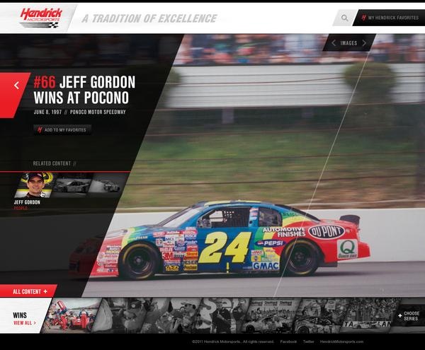 Hendrick Heritage on Web Design Served