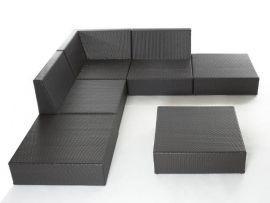 set divano a 6 pezzi - rattanshop