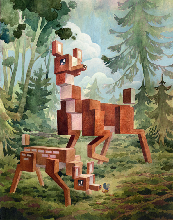 """Deer"" - What an ART !!!"