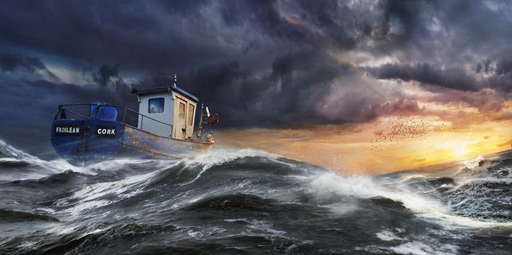 Rolling Ocean | Andrew Brooks's Print Shop