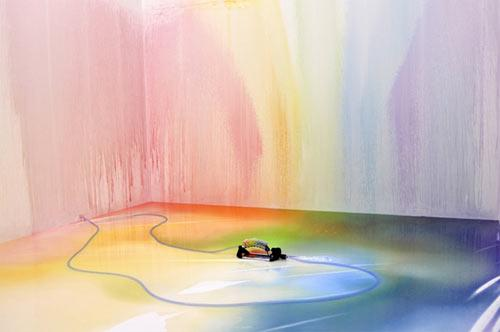 Need A Pick Me Up? Paint A Rainbow | Design Milk