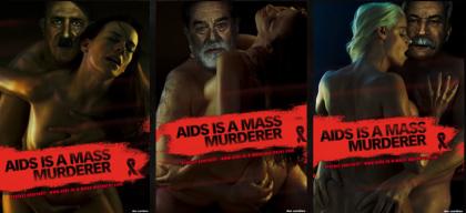Publicité SIDA: Adolphe Hitler, Saddam Hussein et Joseph Staline - Armetiz – Thomas Tourlourat – CV Ingénieur Informatique