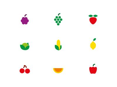 Free fruit vector icons part 1 by Smÿk