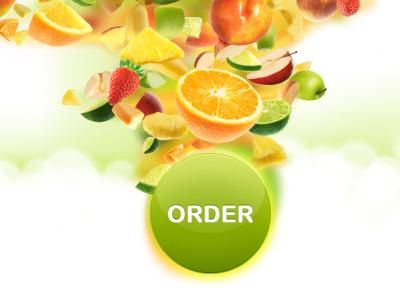 Fruit Order Button by Alexander Bickov