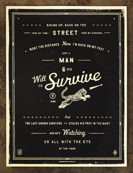 NeighborhoodStudio — Will to Survive
