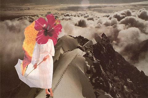 Collage art by Thomas Spieler — Lost At E Minor: For creative people