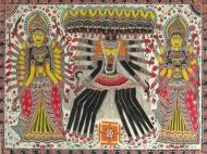 Madhubani paintings from artsoftheearthindia.com - 3mik.com