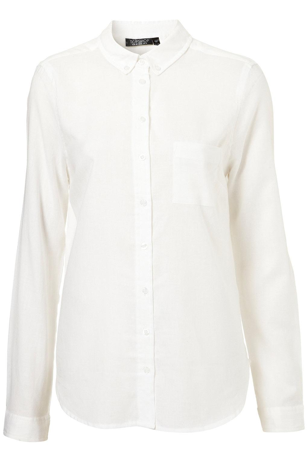 Longsleeve Casual Shirt - Blouses & Shirts - Tops - Clothing - Topshop