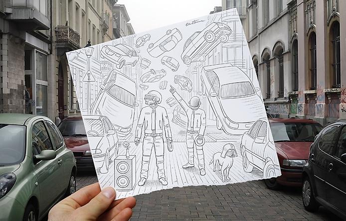 Карандаш против Камеры. Искусство Бена Хейна