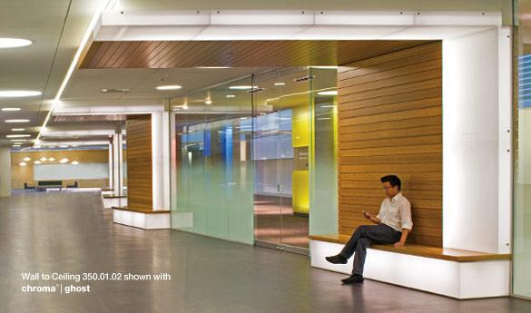 Solutions | Ready To Go Solutions | 350 Wall To Ceiling Features | 3form