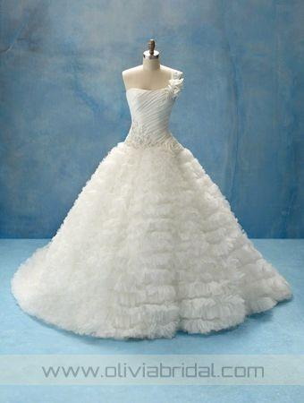 OliviaBridal Design Alfred Angelo 203 Price, Alfred Angelo Wedding Dresses Cheap For Sale