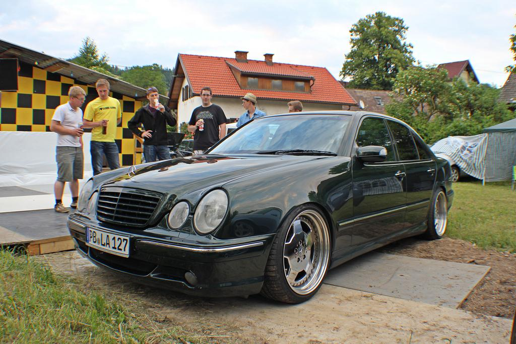 GTI Treffen Wörthersee 2011 - Keutschach - W210 E55 AMG | Flickr - Photo Sharing!