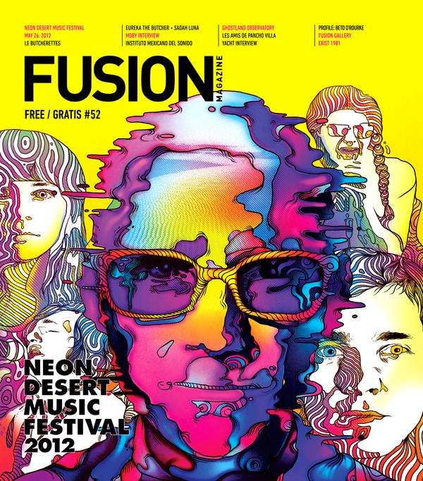FUSION MAG & MAZDA on Illustration Served