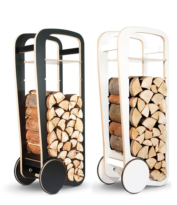 Fleimio Wood Trolley by Tero Jakku » Yanko Design