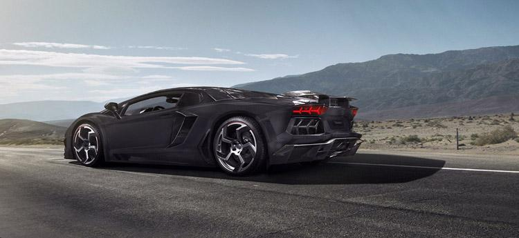 Lamborghini Aventador Carbonado @ ShockBlast