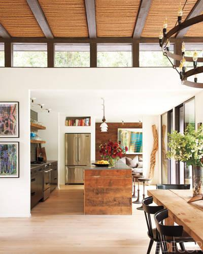 Amagansett Homes: Victor and Athen Calderone's Beach House - ELLE DECOR