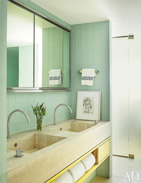 MAC II's Mica Ertegun Decorates a Minimalist Gramercy Park Apartment : Interiors + Inspiration : Architectural Digest