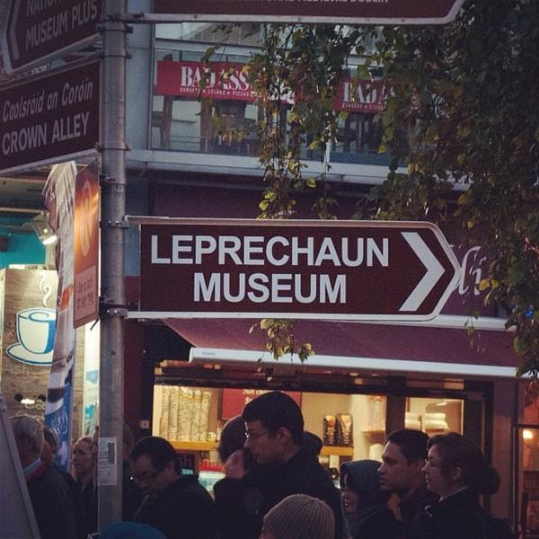 Photos I've taken / Leprechaun Museum — Designspiration
