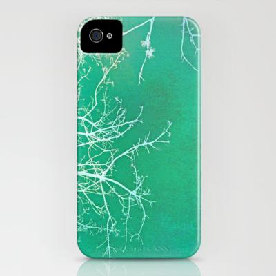 White Branches iPhone Case by Ally Coxon | Society6