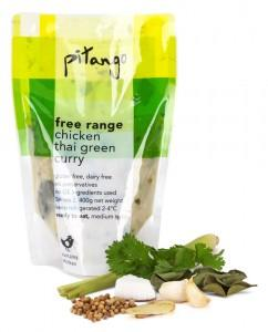 free range thai green chicken curry | pitango