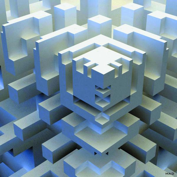 3d fractal with fibonacci - Grasshopper